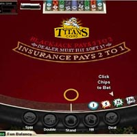 Blackjack Titan Casino
