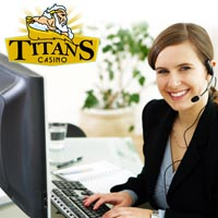 Support Titan Casino